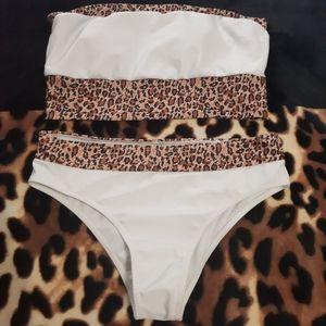 Nwot Shein Leopard Bikini ❤